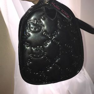 Hello Kitty Bags - (Rare find) Black Hello Kitty Purse